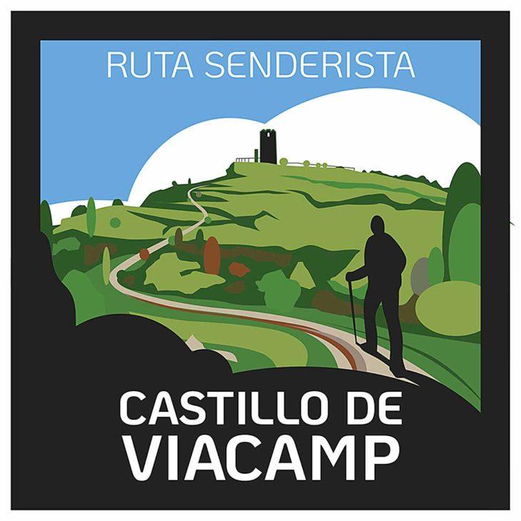 Torres Vigía de Viacamp, placa sendero