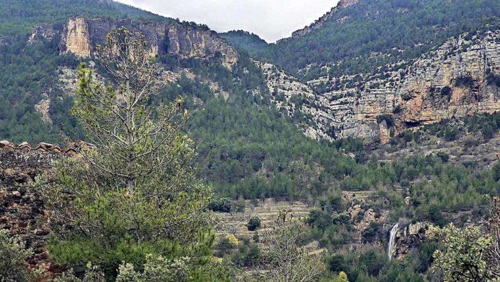 Lítica, cascada del Arquero