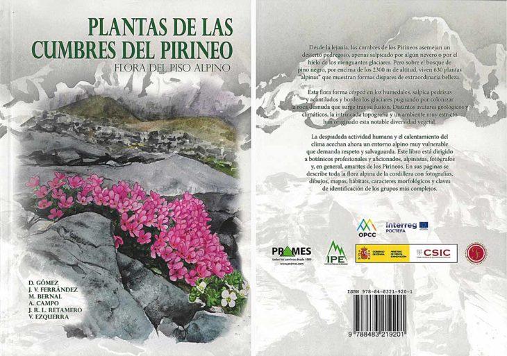 Plantas de las cumbres del Pirineo, portadas