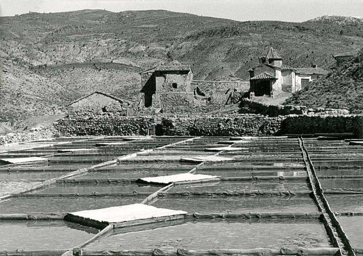 Salinas de Arcos de las Salinas, cristalizadores