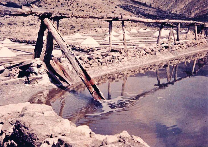 Salinas de Arcos de las Salinas, canal elevado