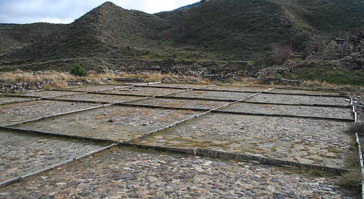 Salinas de Arcos de las Salinas, panorámica