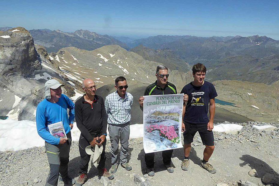 Plantas de las cumbres del Pirineo, presentación