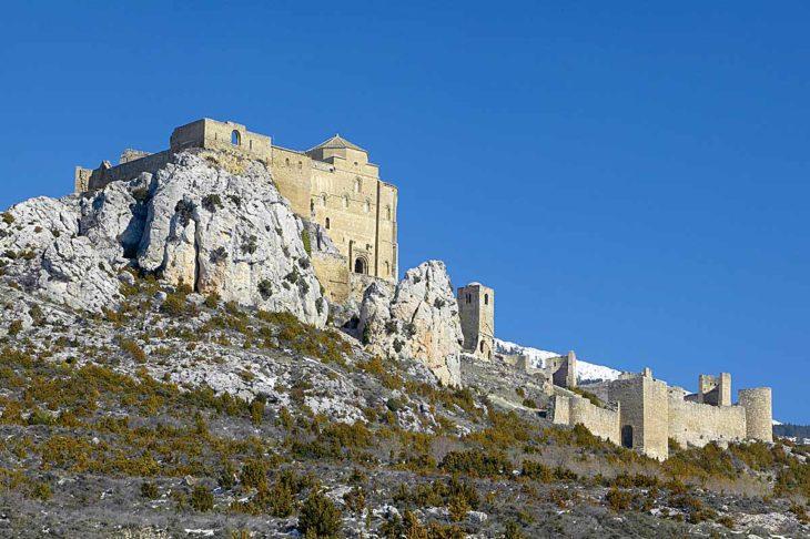 castillo de Loarre, panorámica