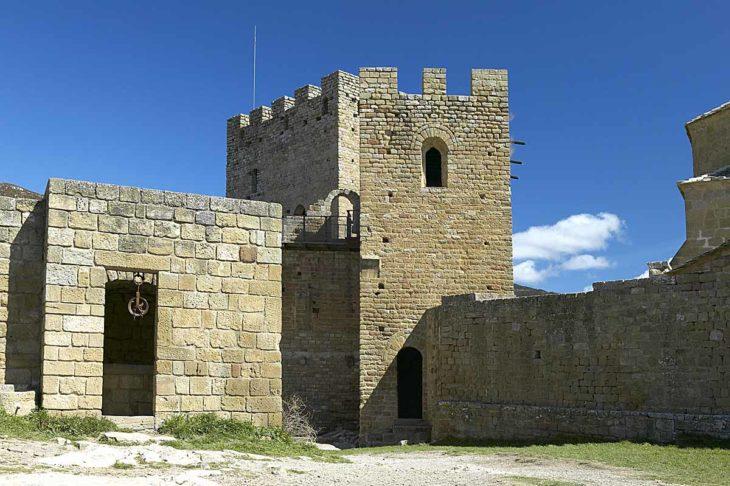Castillo de Loarre, torre de la Reina