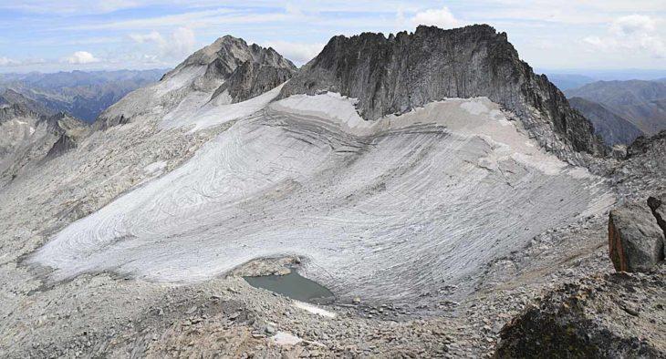 Glaciar del Aneto, nuevos ibones en el Pirineo