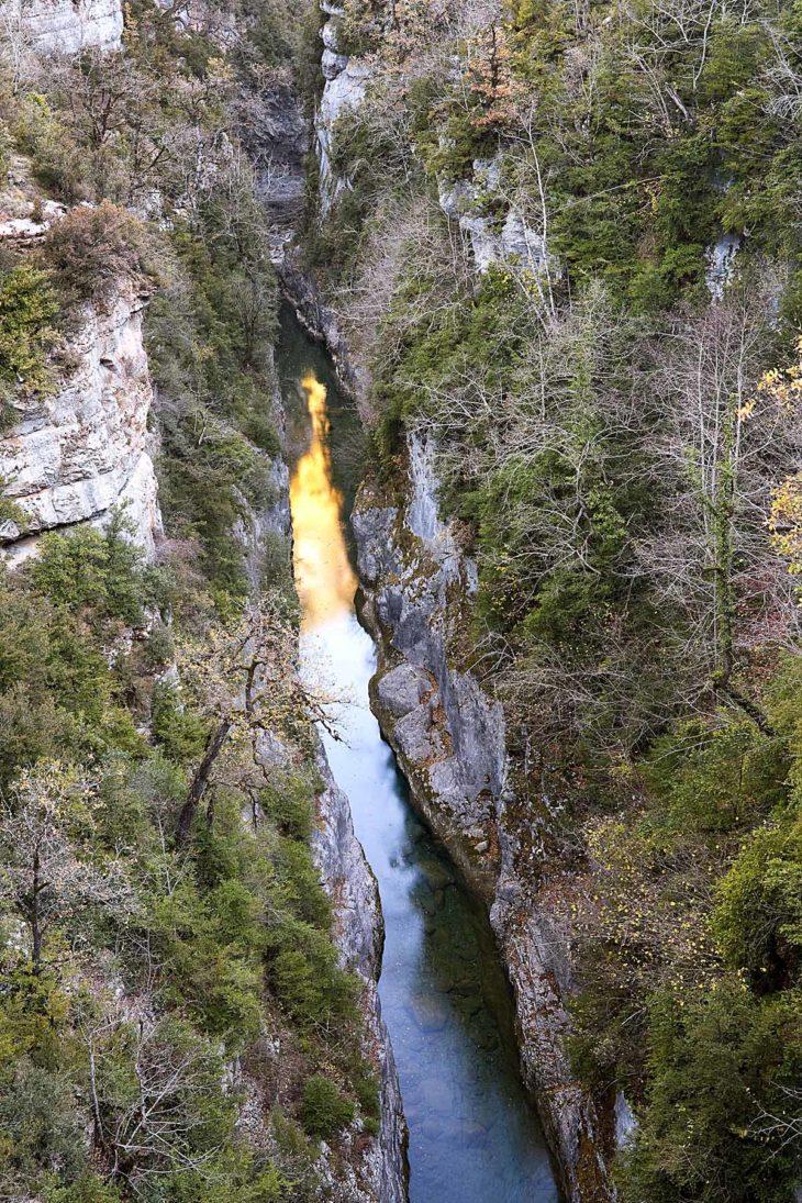 Río Bellós, cañón de Añisclo