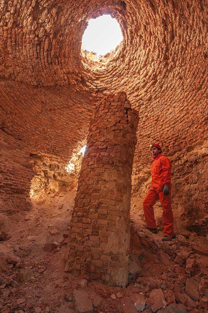 Minas de Teruel, horno para extraer el azufre