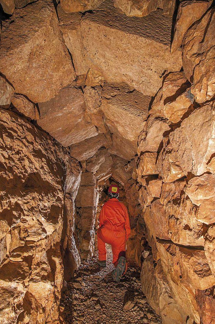 MInas de Teruel, El CAño, en Cuevas de Almudén