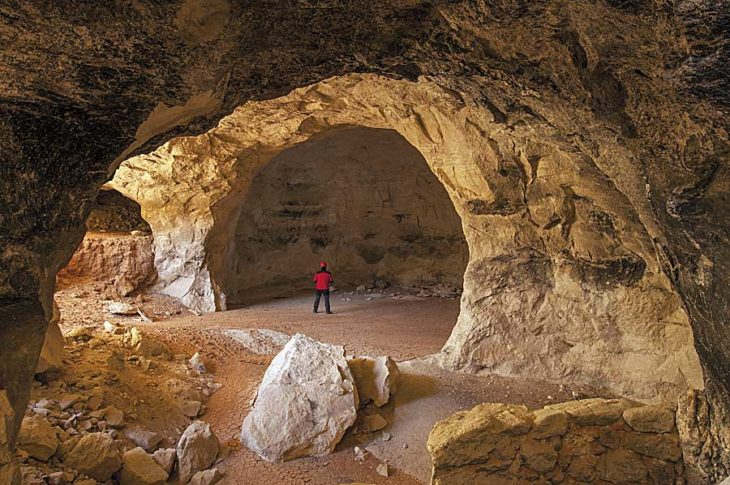 Minas de Teruel, aljezar de Villalba Alta III