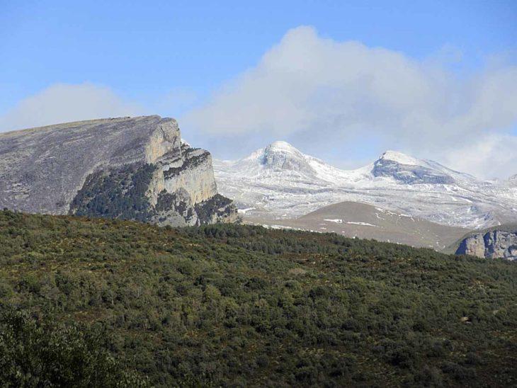 Etapa 1 del GR 268 entre Buerba y Albella