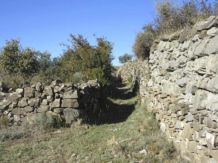 GR 268, camino viejo de Buerba