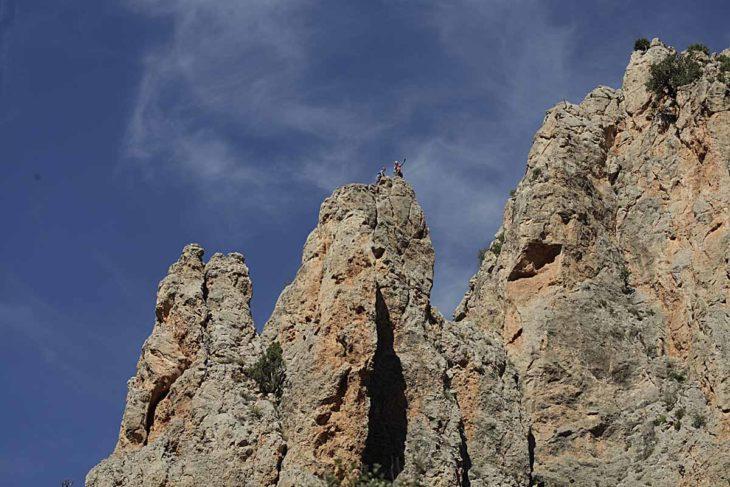 Aristas y crestas de Teruel, Camarena de la Sierra