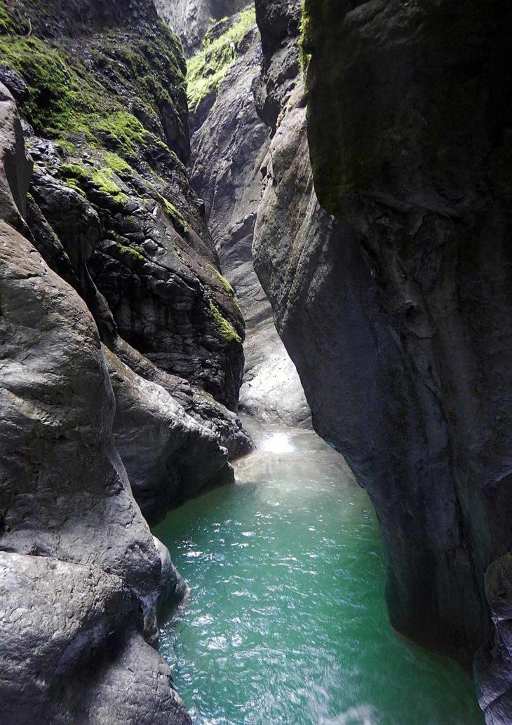 Ríos en roca, barranco de las Gloces