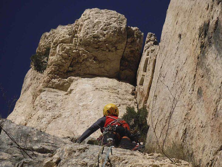 Aristas y crestas de Teruel, Aliaga_