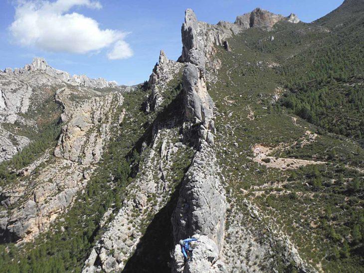 Aristas y crestas de Teruel, La Valfullada
