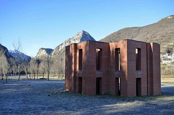 Cabañera de la montaña. Per Kirkeby (Bielsa)