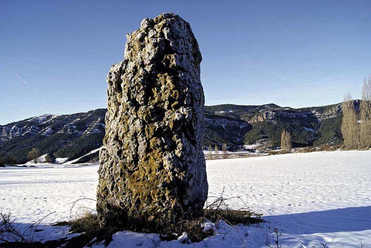 Menhir de Merli_Megalitos del Pirineo aragonés