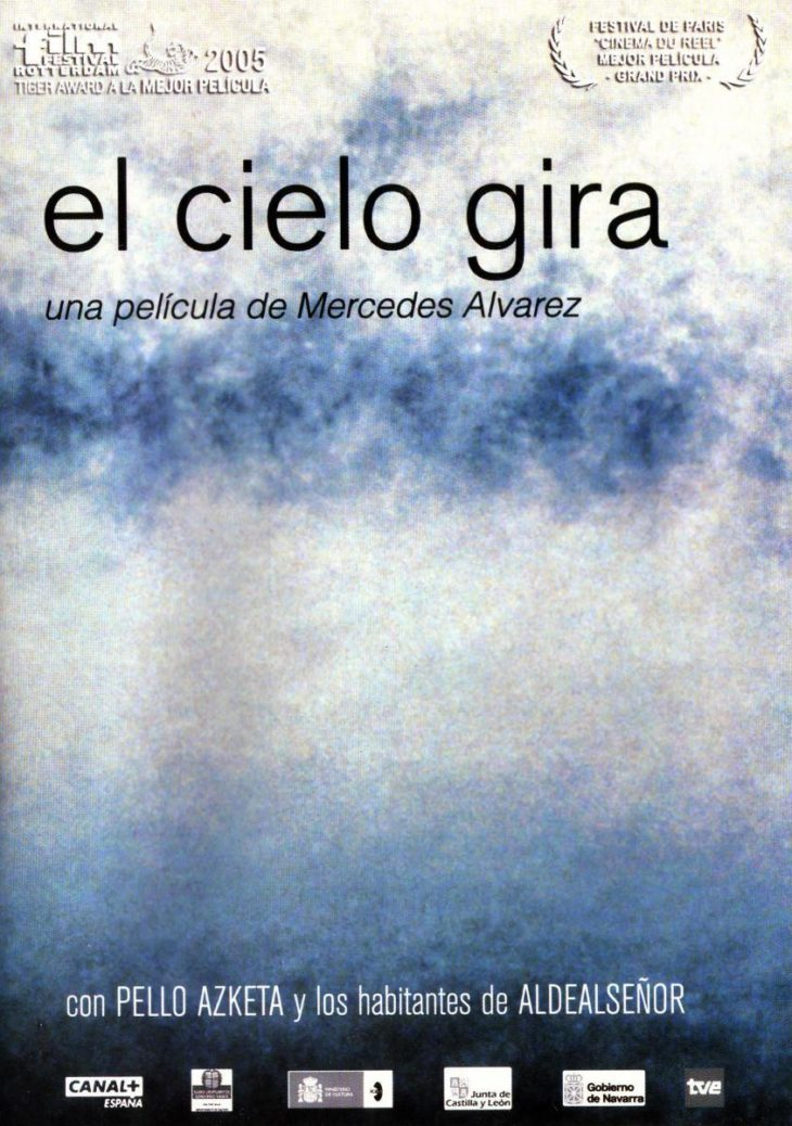 Cartel de «El cielo gira»